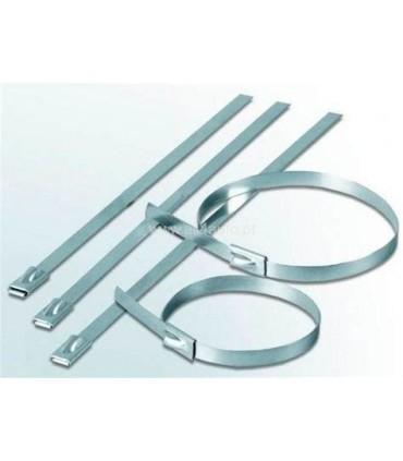 Abraçadeiras Metálicas 320X8mm - ABM320X8