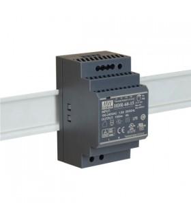 HDR-60-15 - Fonte Alimentação de Calha DIN 15Vdc 4A 60W - HDR-60-15