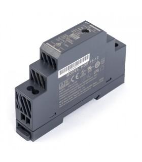 HDR-15-12 - Fonte de Calha Din 12V 15W - HDR-15-12