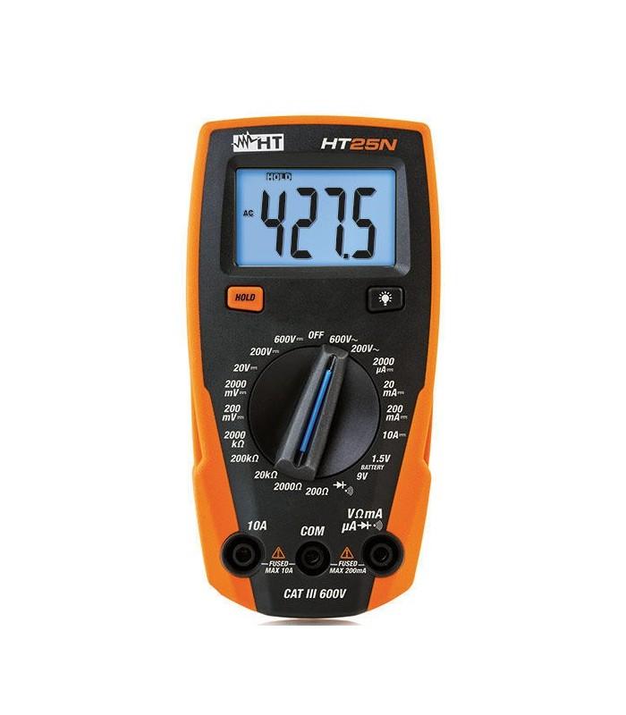 HT25N - Multimetro Digital 3 Digitos