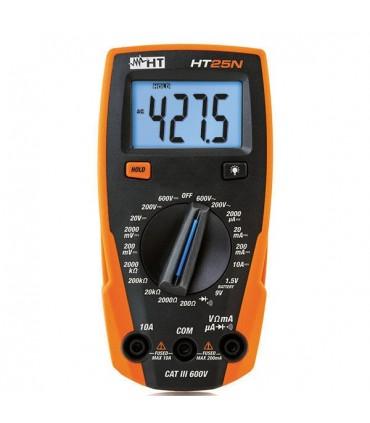 HT25N - Multimetro Digital 3 Digitos - HT25N