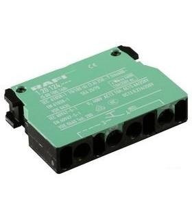 5.00.100.140/0000 - Contact Block, 6 A, 250 V, 1 Pole, Screw - 5.00.100.140/0000