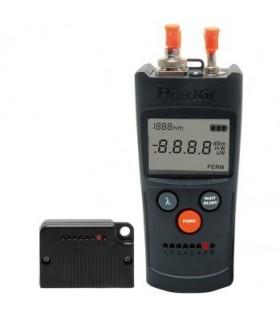 MT7602 - Multimetro Com Medidor Fibra Optica 4 em 1 - MT7602