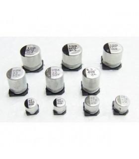 Condensador Electrolitico SMD 22uF 35V - 352235D