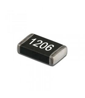 Condensador Ceramico Smd 100nF 50V Caixa 1206 - 33100N50V1206