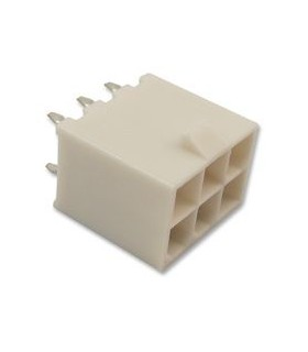 39288060- Fichas Mini-Fit 6 Contactos 4.2mm Wire-To-Board - MX39288060
