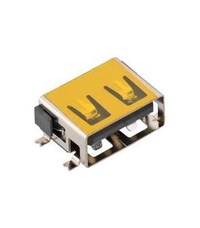 Conector USB 2.0, SMD, Tipo A - MX629104190121
