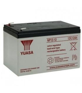 Bateria Gel Chumbo 12V 12A - 99x151x98mm Yuasa - 1212Y