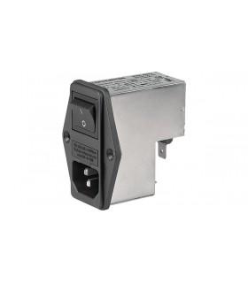 4304.4022 - Filtro Schurter 2x68nF, 250VAC, 2A - 4304.4067
