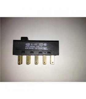 Interruptor deslizante 4p 2c - ID4P2C