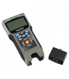 Testador de Redes Rj45 + Coaxial Profissional - TCT2690PRO