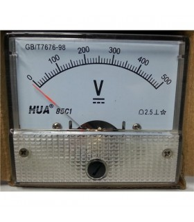 Voltimetro  0-500Vdc - V500V