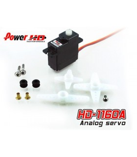 Power HD Mini Servo HD-1160A - HD1160A