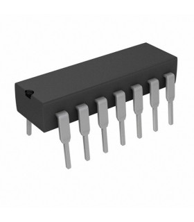 CD4093BE - IC, 4000 CMOS, 4093, DIP14, 18V - CD4093