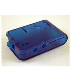 Caixa Azul para Raspberry - Translucent blue - HAMMOND - 1593HAMPITBU