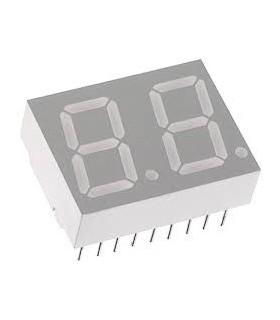 """HDSP-521E - LED DISPLAY, DUAL, 0.56"""", HE-RED - HDSP521E"""