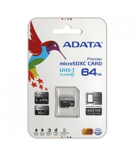 Cartão micro SDHC CARD 64Gb ADATA CLASS10 - SD64GBA