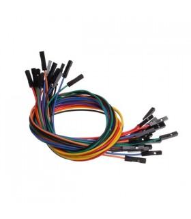 1 Pin Dual - Female Jumper Wire - 100MM - MX120530003