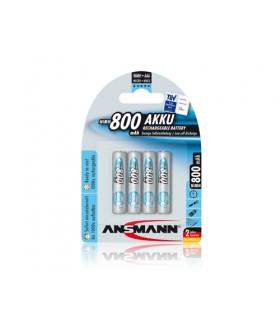 Pack 4 Pilhas Ansmann Lr3 800Mah - 5035042