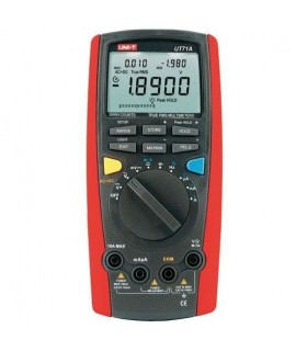 Multimetro digital com escala automática e interface USB - UT71D