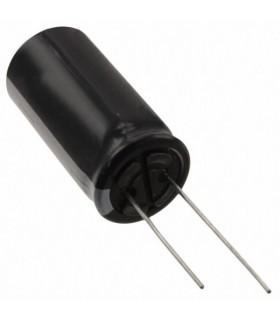 Condensador Electrolitico 22uF 100V - Ø6,3x11mm - 105º - 3522100
