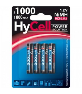 5030662 - Pack 4 Pilhas Lr03 1000Mah - 5030662