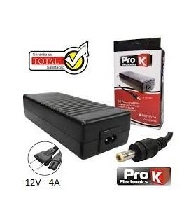 ALIMENTADOR SWITCHING 12V 4A PARA LCD PROK - FAS12V4A