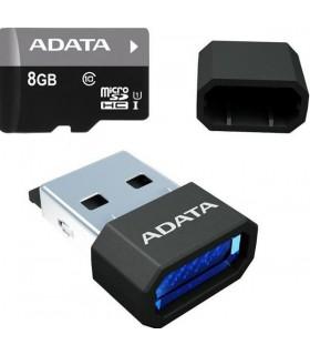 Cartão micro SDHC CARD 8Gb ADATA CLASS10 com Leitor - SD8GBAL