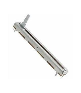 Potenciometro deslizante 10K, Curso 60mm, Mono - 16410K60MM