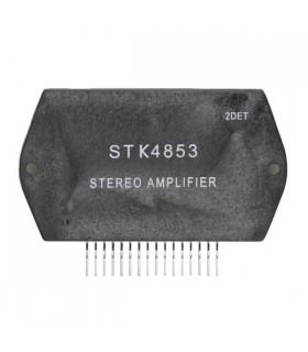 STK4853 - 2-channel 10 TO 50W MIN AF Power Amp - STK4853