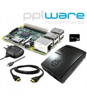 Kit Raspberry Pi 2 com distro PiPplware 8Gb - RASP2KITPPLW2