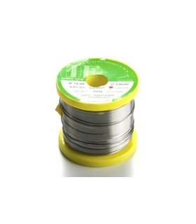 Fio de solda ERSA 1.0mm/0.039, 500g/17.64 oz - 4IF091.0-0500
