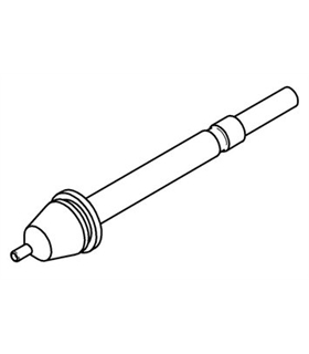 Ponta dessoldar 0.6mm, X-TOOL ERSA - 0722EN0615S/SB