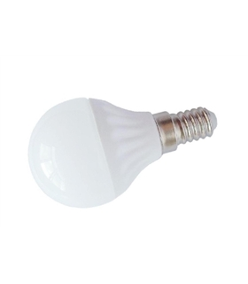 Lampada Globo 4W 28 Leds 2835 Smd E14 Branco Quente 220V - LLE14G04WW