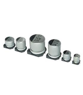 Condensador Electrolitico 10uF 25V - 351025