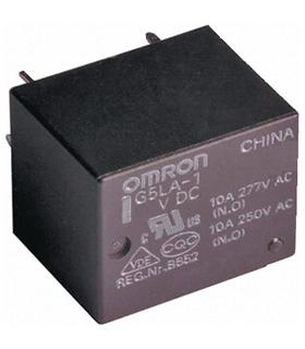 SPDT Miniature PCB relay, 10A 5Vdc coil - G5LA-1DC5