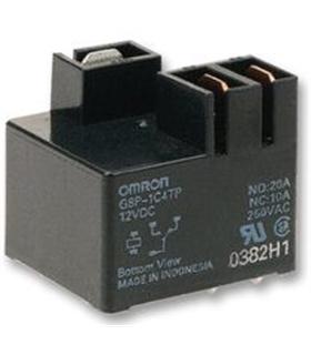 G8P-1C4TP 12DC - RELAY, PCB, SPCO, 12VDC - G8P-1C4TP
