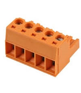 BL 5.08/5 - TERMINAL BLOCK, SCREW, 10A, 5WAY - 69BL508/5