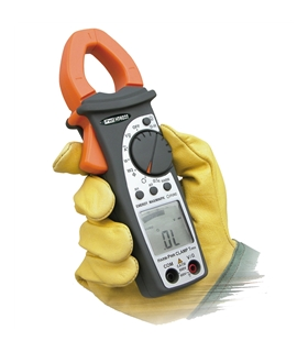 TRMS AC clamp meter up to 400 A, with Power/Harmonic - HT4022