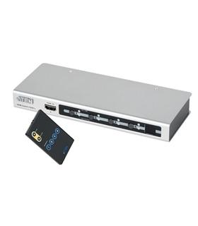 VS481 - Comutador HDMI 4p com comando Res. Max. 1920x1200 - VS481
