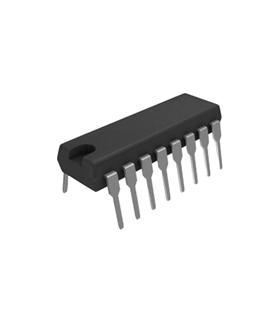 CD74HC191 - 4 Bit Synchronous UP/DOWN Counter, DIP16 - CD74HC191