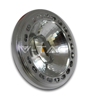 LED Spotlight AR111 15W 20º Branco Quente Dimável Sharp - VT4099