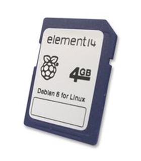 Cartao SD-4GB c/ Sistema Operativo Para Raspberry Pi - RASPCARD