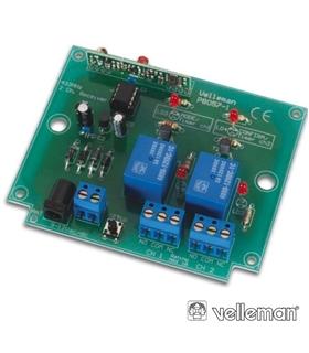Kit Receptor 2 Canais Velleman - K8057