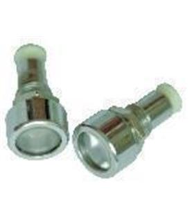 Suporte Led Metalico 5mm com Lente  - C-7467 Cebek - C7467