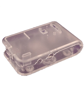 Caixa Transparente para Raspberry - HAMMOND MANUFACTURING - 1593HAMPICLR