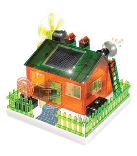 Casa solar - Kit científico de energias renováveis - 390225