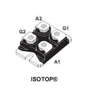 Módulo De Tiristor  800V 70A SOT-227 - MSS50-800