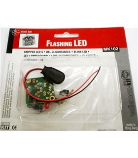 MK102 - Flip Flop Flashing Leds - MK102