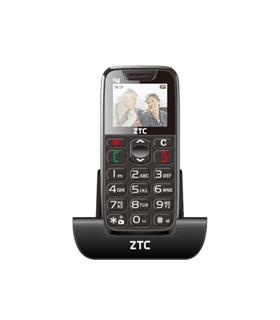 TELEMOVEL ZTC SP48 BLACK/RED - ZTC-SP48BR